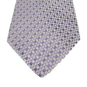 Hugo Boss Purple Pink Blue Spring Tie